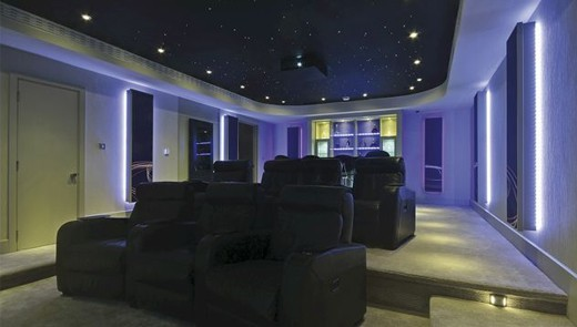 Home Cinemas From Rococo Systems & Design