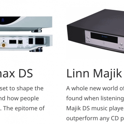 Linn DS – When Quality is All that Matters