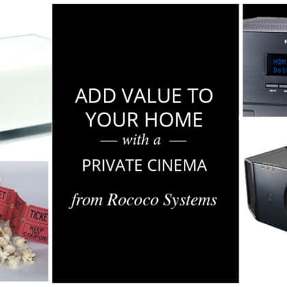 Add value to your home with a private cinema room