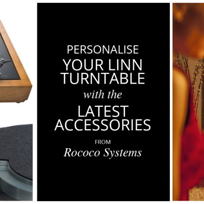 Personalise your Linn turntable with the latest accessories