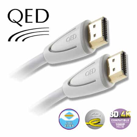 Qed Profile E Flex Hdmi Single Hdmi Cables