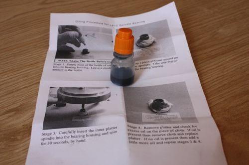 lp12 oil kit