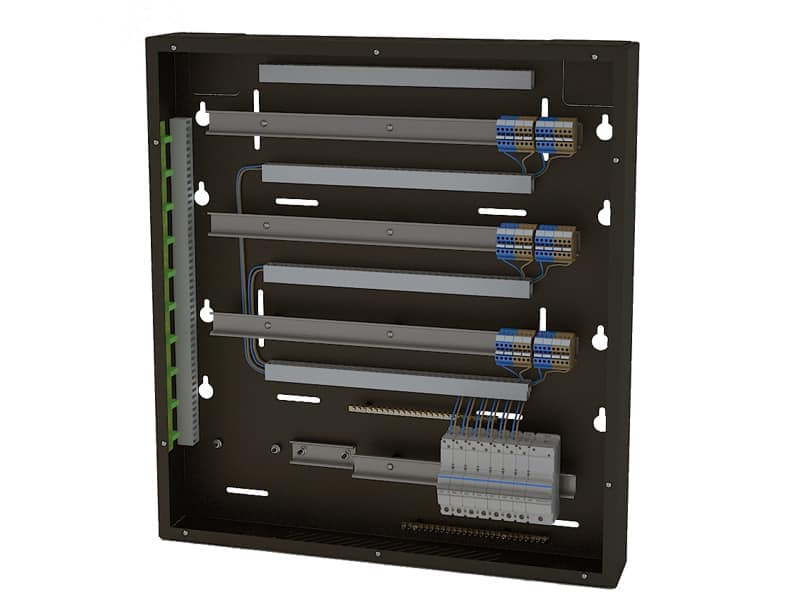 LCP-RCBO | Lutron Homeworks QS Cabinet