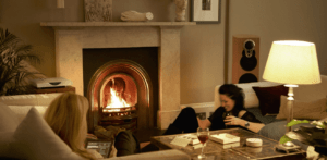 Klimax Speakers in Home Living Room
