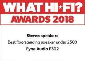 F302 Floorstanding Loudspeaker.